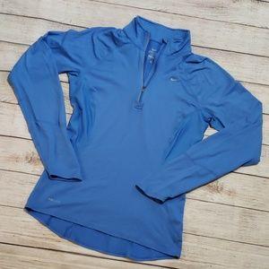 🌵Send an offer🌵 Nike dri-fit blue quarter zip